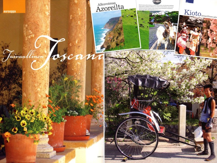 What a pleasure to photograph and write about amazing places like the Azores, Kyoto and Tuscany for Lento.